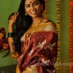 usha-jadhav-in-saree
