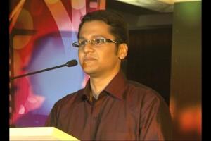 Music Director - Anurag Godbole  At Music launch of movie The Strugglers - Amhi Udyache Hero
