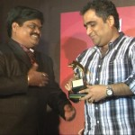 Producer Shankar Nangre & Kunal Ganjawala at The Strugglers - Amhi Udyache Hero music launch.
