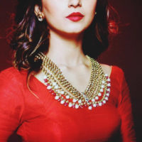 Super Hot Shivani Surve Mararhi Actress in Red Colors Dress