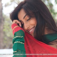 Kranti Redkar Marathi Actress in movie Love Is vaat (1)