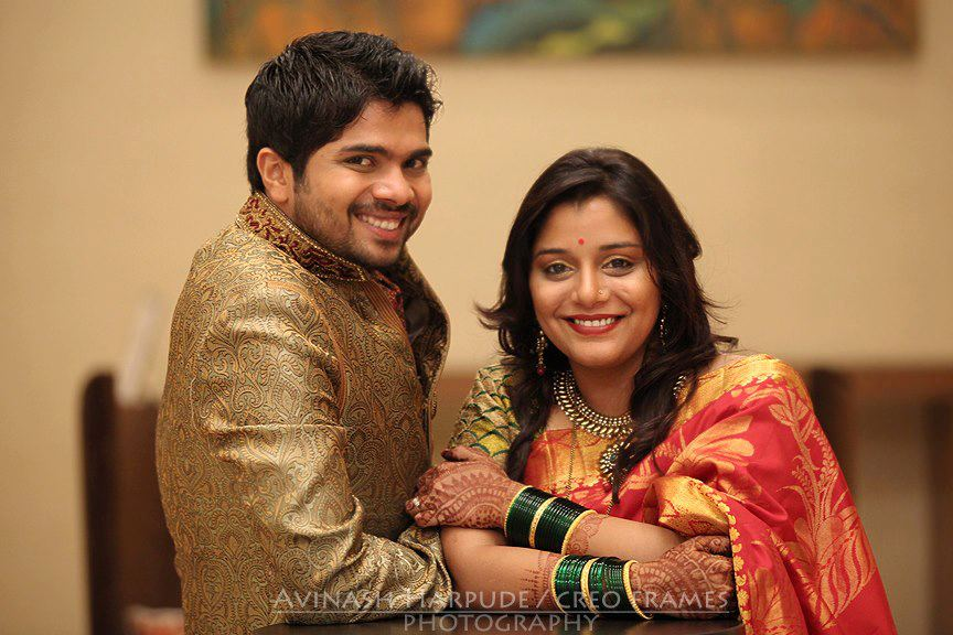 Hemant Dhome And Kee Jog Marriage Photos