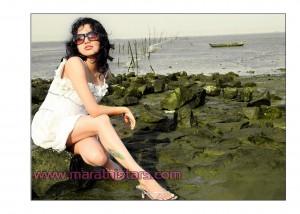 Ketaki Chitale Actress Ambat goad Star Pravah
