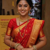 Mrunmayee Deshpande in Maharashtrian Culture Saree