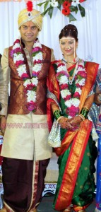 Tejswini Pandit wedding photos