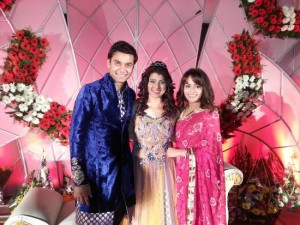 Tejaswini Pandit and Bhashan Rupchandji Marriage Photos
