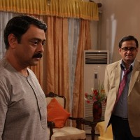 Mahesh Manjrekar & Sachin khedekar in Aajcha Divas Majha