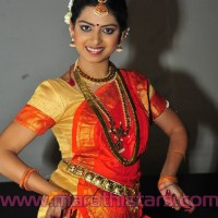 Actress Smita Shewale in saree
