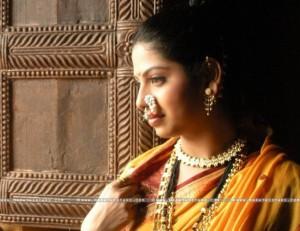 Actress Smita Shewale in saree photos