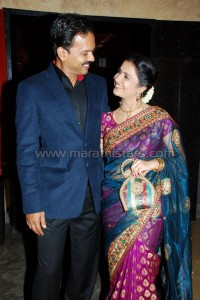 Amruta Shubhash With Husband Sandesh Kulkarni