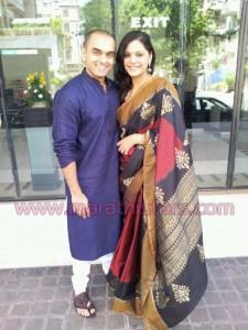 Anuja Sathe And Suarabh Gokhale New marathi couple