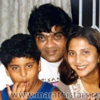 Ashok Saraf-Nivedita Joshi Familyt