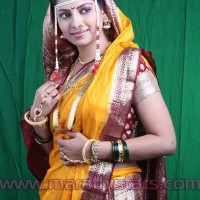 Smita Shewale Marathi Actress in Saree