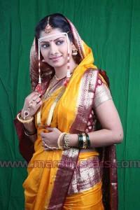 Smita Shewale Marathi Actress in Saree