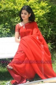 Smita Shewale in Saree