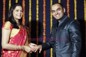 Suarabh Gokhale And Anuja Sathe engagement Photo