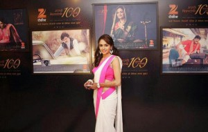 Amruta Khanvilkar at Zee Talkies celebrity calendar 2013 Party as a Tribute to 100 years of Indian Cinema
