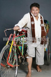 Arun nalavade as cycle rikshawala in taani marathi movie