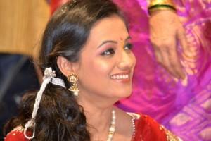 Spruha Joshi Marathi Actress Engagement Photos