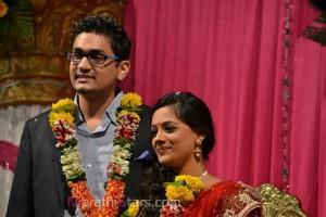 Spruha Joshi-Warad Laghate Engagement Photos