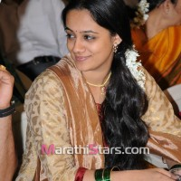 Spruha Joshi at Vikram gaikwad marriage
