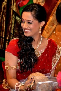 Spruha Joshi marathi Actress Wedding-Engagement Photos