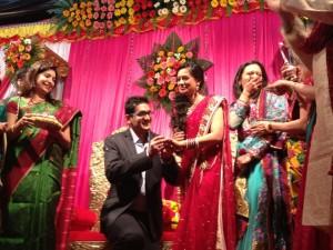 Spruha Shirish Joshi (kuhu) Engagement Photos