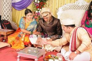 Vikram gaikwad and akshata kulkarni marriage photo