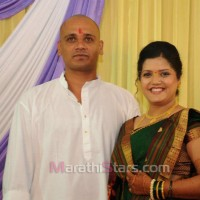 Vikram gaikwad and akshata kulkarni marriage photos