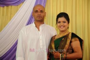 Vikram gaikwad and akshata kulkarni marriage photos