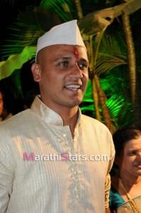 Vikram gaikwad wedding photos