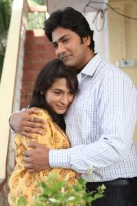 Aniket Vishwasrao and Pradnya Shastri in Yeda Marathi Film