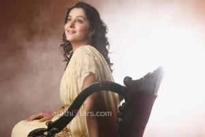 Marathi Actress Mrunal Kulkarni in Prem Mhanje Prem Asta Movie