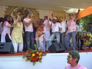 Marathi Stars While Celebrating Holi