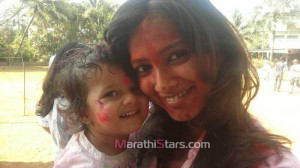 Pallavi Subhash Holi Photos