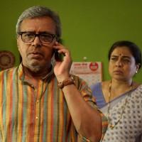 Reema Lagu & Satish Pulekar in Yeda Marathi Movie