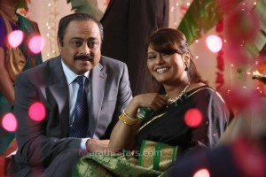 Sachin Khedekar & pallavi Joshi in Prem Mhanje Prem Asta Movie