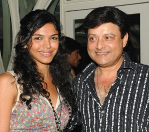 Sachin Pilgaonkar with daughter Shriya pilgaonkar