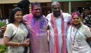 Zee marathi Shejari Shejari Pakke shejari Holi Photos