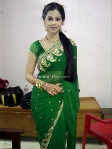 Deepali Pansare New Devyani Saree Photos