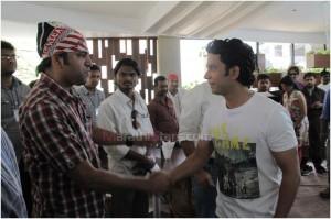Umesh kamat With Director Ajay naik