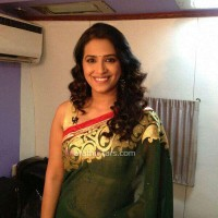 Marathi Actress Sharmishtha Raut Saree Photos