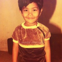 Aniket Vishwasrao Marathi Actor Child Photos