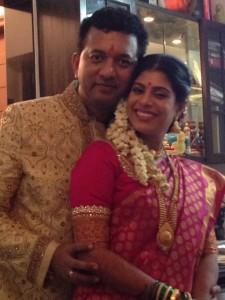 Marathi Actress Aditi Sarangdhar Marriage Photos