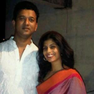 Marathi Actress Aditi Sarangdhar & Suhas Revandekar wedding Photos