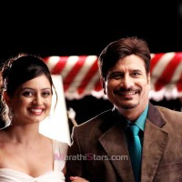 Shruti Marathe & Sandeep kulkarni in Premsutra