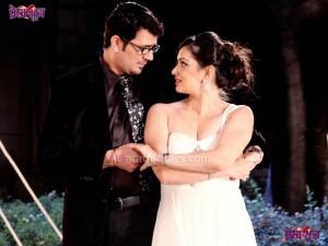 Shruti marathe & Lokesh gupte in premsutra Movie