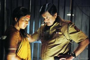 Mahesh Manjarekar & Pakhi Hegde sat na Gat Movie
