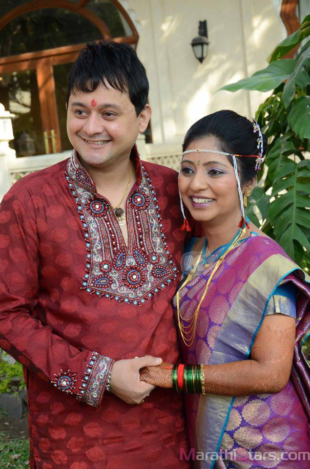Swapnil Joshi With Wife Leena Aradhye