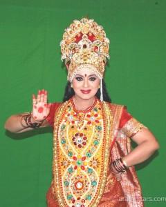 Sudha Chandran's MahaLaxmi devi avatar for Marathi film